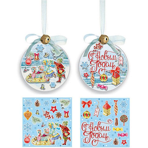 Феникс-Презент Набор для творчества Феникс-Презент Шар Новогоднее украшение набор для творчества шар папье петушок от 5 лет в02701