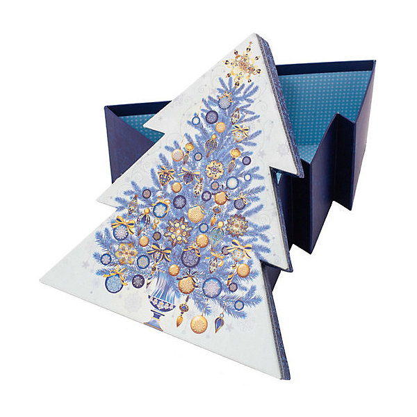 Феникс-Презент Подарочная коробка Феникс-Презент Золото на синем феникс презент подарочная коробка феникс презент красная площадь