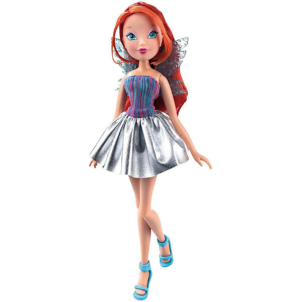 Winx Club Кукла Winx Club Рок-н-ролл Блум кукла winx club magis flowers нежная роза блум 27 см iw01021400