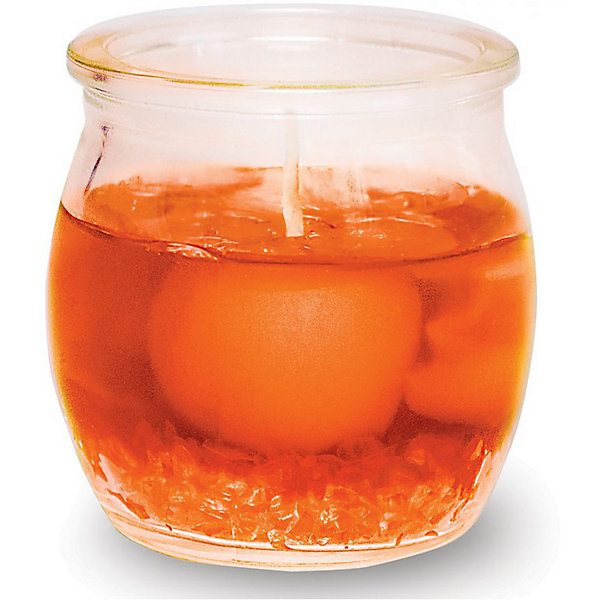 B&H Свеча ароматизированная B&H Дольки мандарина, 5 см airwick ароматизированная свеча лесные ягоды 105 гр