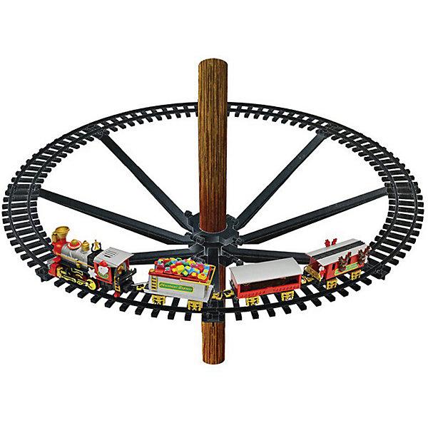 B&H Поезд B&H для Рождественской Ёлки железная дорога ретро поезд 18 деталей