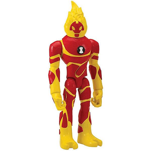 Купить Фигурка Playmates Ben 10 Человек-огонь, 28 см, Китай, желтый/красный, Мужской