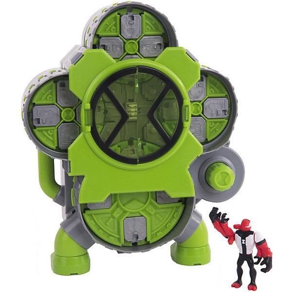 PLAYMATES Игровой набор Playmates Ben 10 Камера создания пришельцев, 4 фигурки