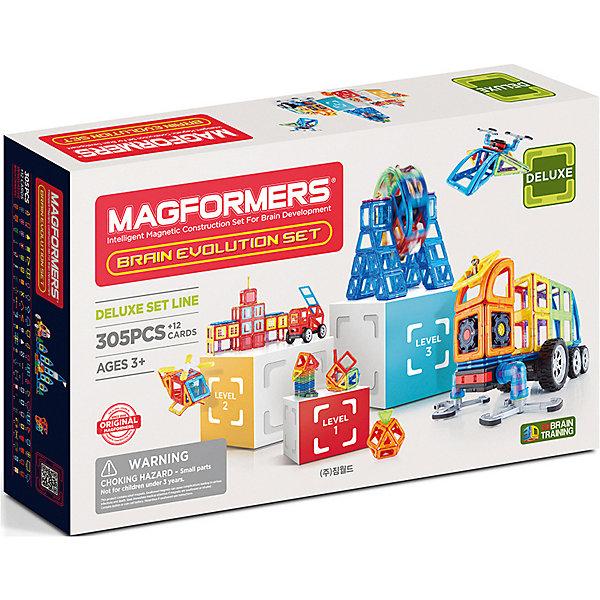 Купить Магнитный конструктор MAGFORMERS Brain Evolution set, Китай, Унисекс