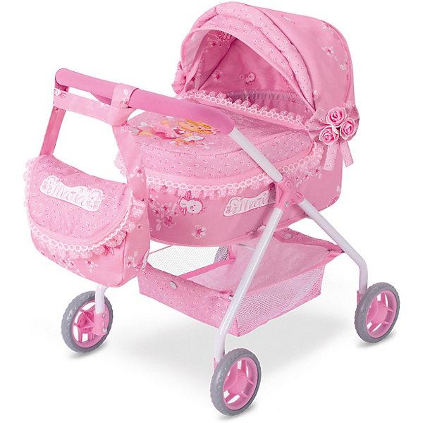 Купить Коляска для кукол DeCuevas Мария с сумкой, 56 см, Китай, розовый, Женский
