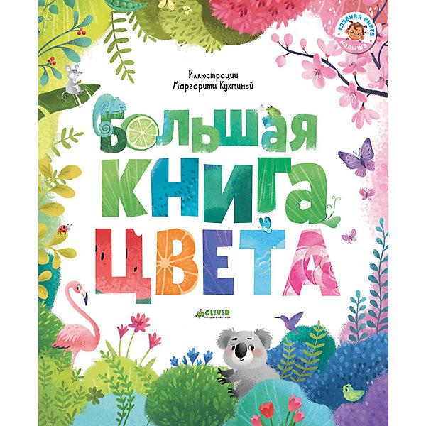 Clever Большая книга Первые книжки малыша Цвета