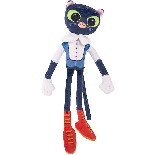 Сказочный патруль Мягкая игрушка Кот Ученый, озвученная, 32 см