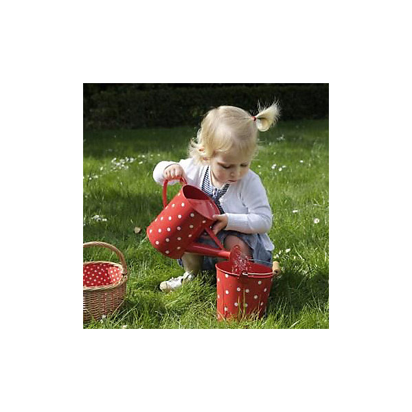 Egmont Toys Ведро Egmont Toys Горох, красное egmont toys лейка рыбки салатовая egmont toys