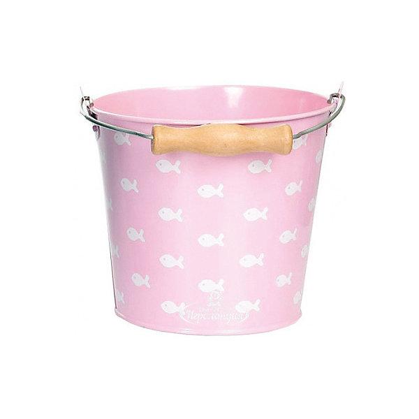 цена Egmont Toys Ведро Egmont Toys Рыбки, светло-розовое