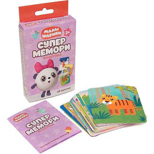 Мозаика-Синтез Супермемори Животные Малышарики, Мозаика-Синтез книга мозаика синтез малышарики мс10988