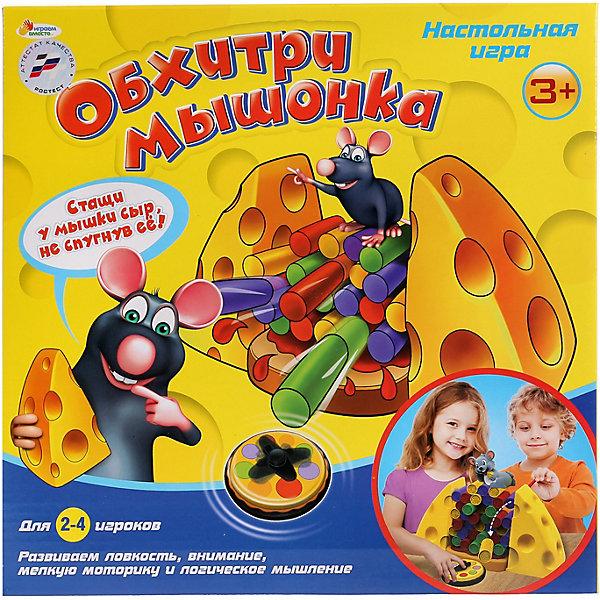 Играем вместе Настольная игра Обхитри мышонка