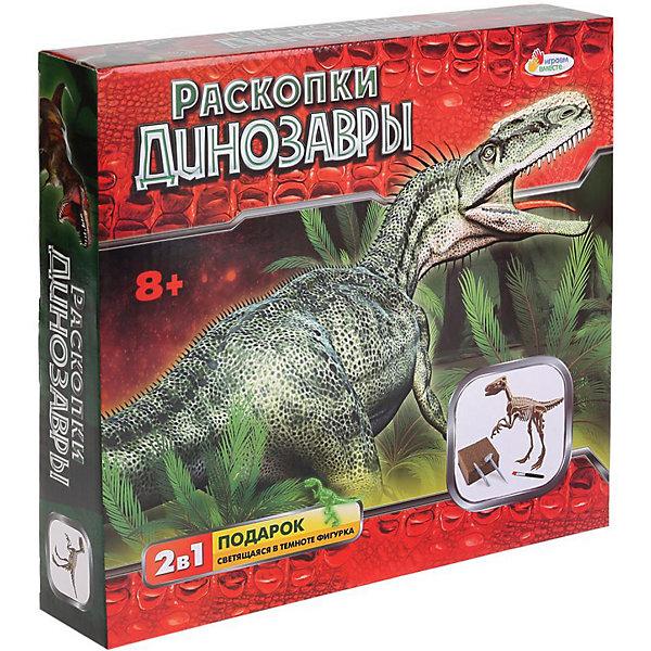 Играем вместе Набор археолога Играем вместе Раскопки динозавров Велоцираптор, светится в темноте играем вместе деревянная рамка вкладыш 29 21 см поезд динозавров играем вместе