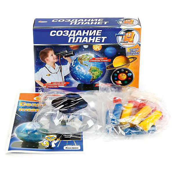 Купить Набор Играем Вместе Юный астроном: создание планет, Играем вместе, Китай, Унисекс
