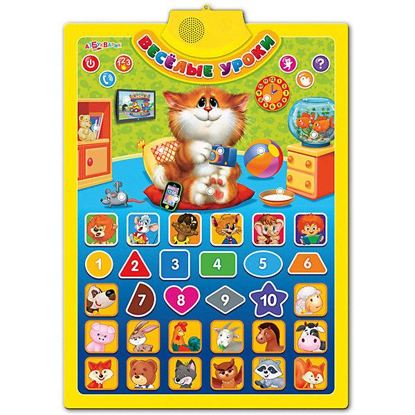 Азбукварик Говорящий плакат Азбукварик Весёлые уроки азбукварик говорящий кубик азбукварик счет формы цвета