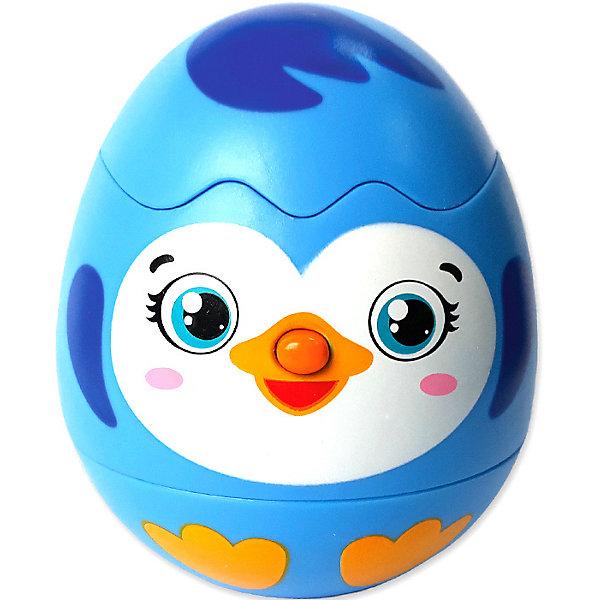 Азбукварик Яйцо-сюрприз Пингвинчик