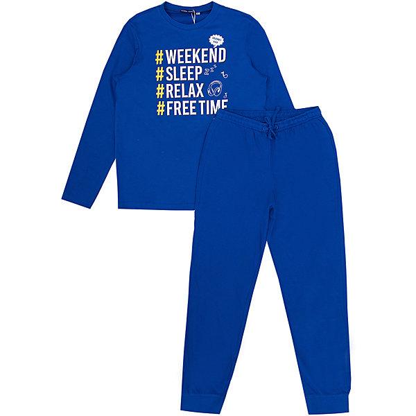 Купить Пижама Original Marines для мальчика, Бангладеш, синий, 152, 176, 164, Мужской