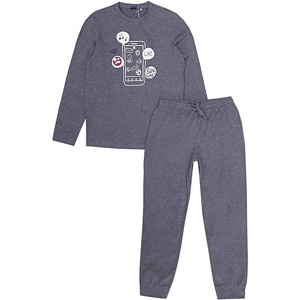 Купить Пижама Original Marines для мальчика, Бангладеш, серый, 152, 176, 164, Мужской