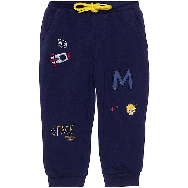 Купить Спортивные брюки Original Marines для мальчика, Бангладеш, темно-синий, 86, 74, 80, 68, 62, Мужской