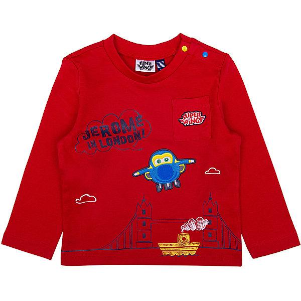 Футболка с длинным рукавом Original Marines для мальчикаФутболки, топы<br>Характеристики товара:<br><br>• цвет: красный;<br>• состав: 100% хлопок;<br>• сезон: демисезон;<br>• застёжка: кнопки на плече;<br>• футболка с длинным рукавом;<br>• накладной нагрудный карман;<br>• округлый вырез горловины;<br>• свободный крой;<br>• декорирована принтом;<br>• страна бренда: Италия.<br><br>Футболка с длинным рукавом, выполнена в красном цвете, у футболки округлый вырез горловины и свободный крой, декорирована принтом, имеется накладной нагрудный карман. Застёгивается на две кнопки на плече для удобства надевания. Футболка обеспечит удобство благодаря мягкому и дышащему материалу.