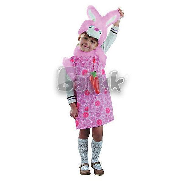 Батик Карнавальный костюм Батик Зайка батик костюм карнавальный для девочки зайка сонька размер 26