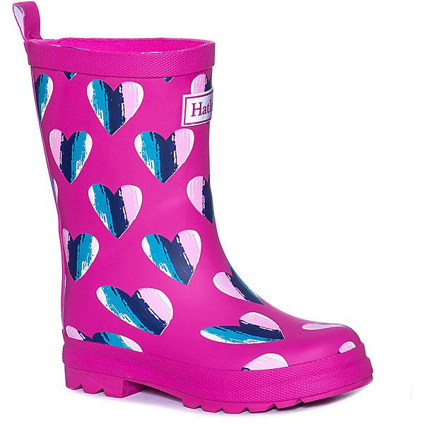 Hatley Резиновые сапоги Hatley для девочки hatley брюки для девочки hatley