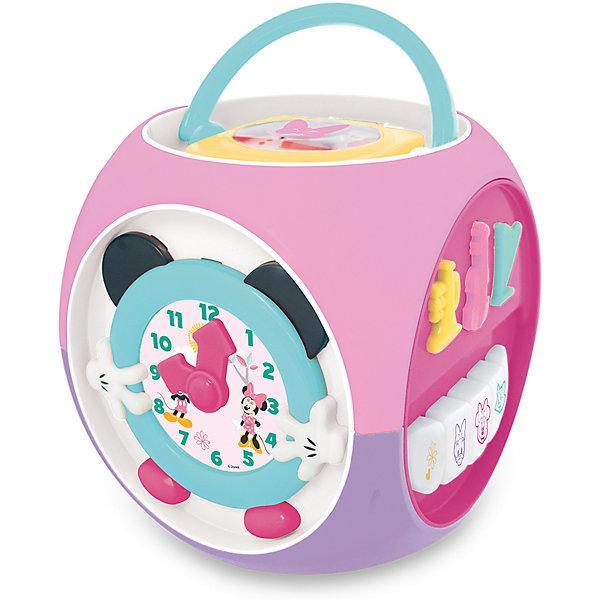 Kiddieland Развивающая игрушка Мультикуб Минни Маус Kiddieland каталка kiddieland минни маус розовый от 1 года пластик