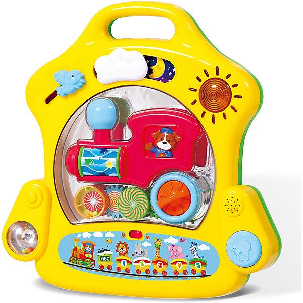 Купить Развивающий игровой центр для самых маленьких Playgo, -, Китай, желтый, Унисекс