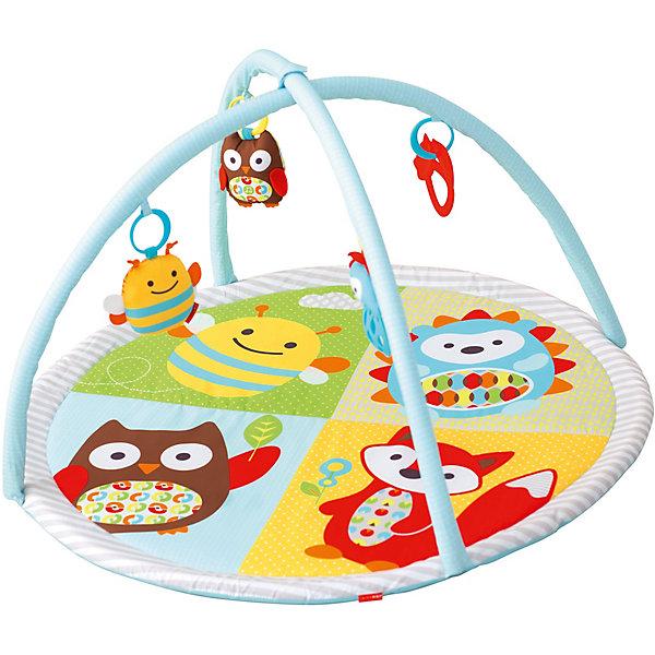 - Гимнастический коврик c дугами SkipHop гимнастический коврик с дугами тучки skip hop