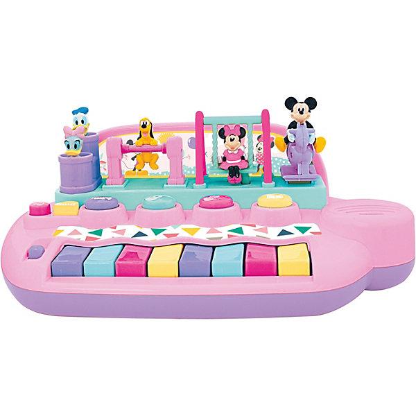 Kiddieland Развивающая игрушка Пианино с животными Минни Маус и друзья Kiddieland каталка kiddieland минни маус розовый от 1 года пластик