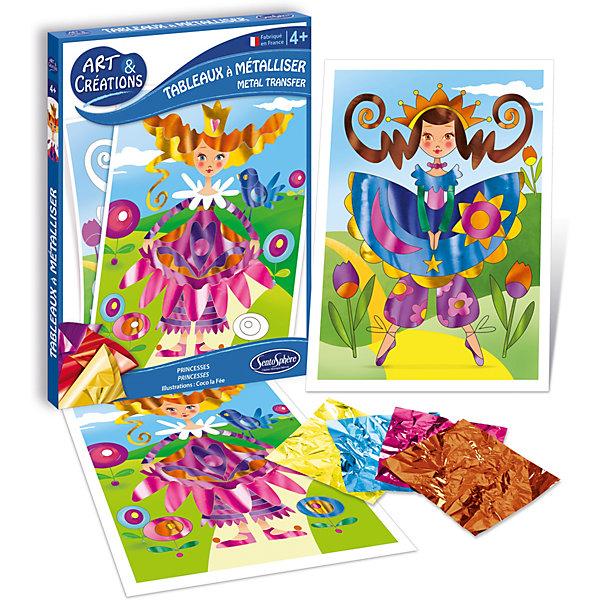 SentoSphere Набор для детского творчества SentoSphere Принцессы наборы для рисования sentosphere песочные картинки города мира