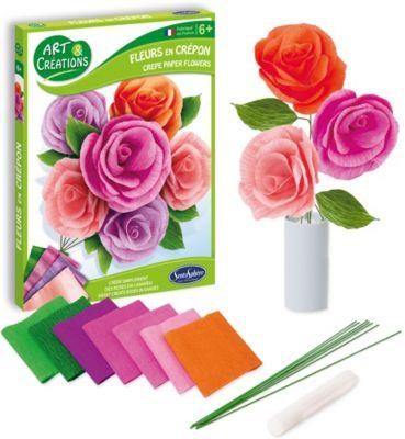 Набор для детского творчества SentoSphere  Цветы , артикул:9508620 - Рукоделие и поделки