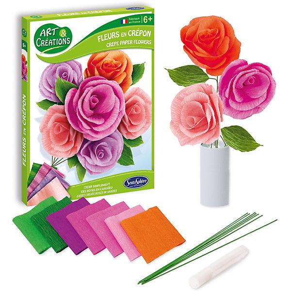 SentoSphere Набор для детского творчества Цветы