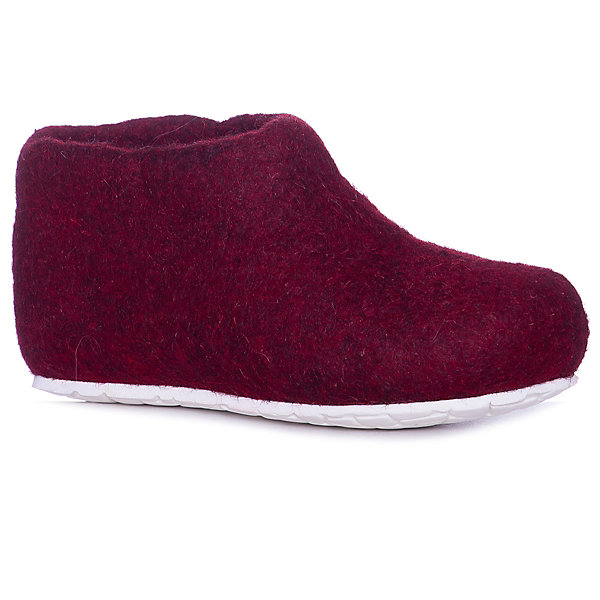 Тапочки SnegiТапочки<br>Характеристики товара:<br><br>• цвет: бордовый;<br>• материал: шерсть;<br>• сезон: круглый год;<br>• подошва не скользит;<br>• анатомические;<br>• страна бренда: Россия.<br><br>Эти детские тапочки от бренда SNEGI - удобная обувь, которую можно носить дома в любое время года. Тапочки для ребенка сделаны из натуральной валяной шерсти - она безопасна для детей, долго служит, отлично адаптируется под ногу владельца чтобы повысить комфорт при ношении. Валяные тапочки для детей удобно сидят, не давят и не натирают. Такие шерстяные детские тапочки незаменимы в холодное время года - они согреют ноги и создать для них комфортный микроклимат даже в теплую погоду. Тапочки из натуральной шерсти отличаются свободной посадкой, они отлично подходят для широкой стопы, но если вам нравится плотная посадка, лучше заказать размер на 1 меньше, чем приобретается для уличной обуви.