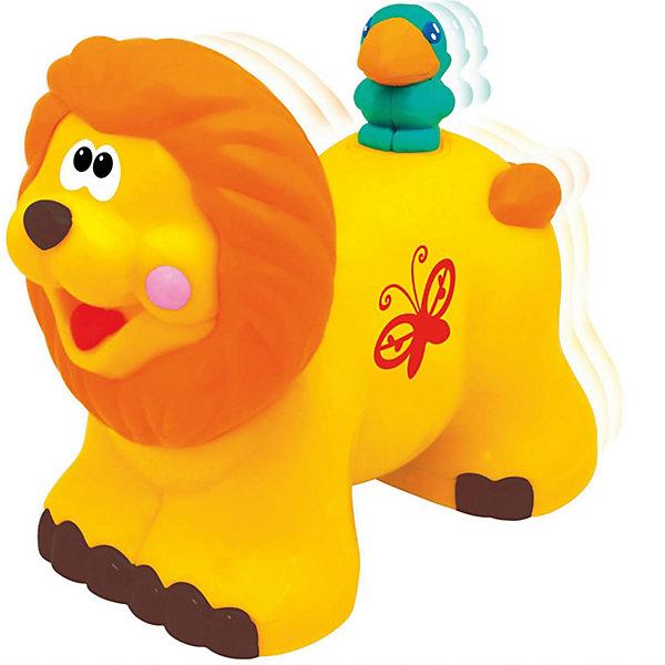 Kiddieland Развивающая игрушка Каталка Львенок Kiddieland машины kiddieland забавный автомобильчик на р у