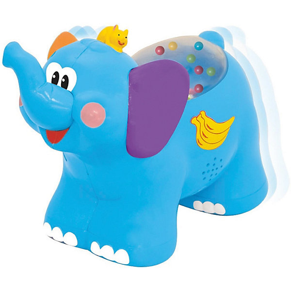 Kiddieland Развивающая игрушка Каталка Слоненок Kiddieland kiddieland игрушка каталка дельфин