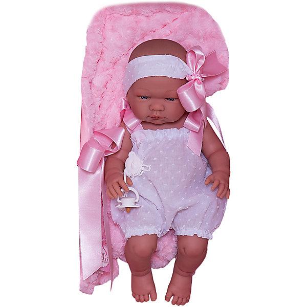 Кукла Asi Мария , 43 см, Испания, розовый, Женский  - купить со скидкой