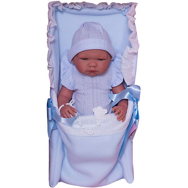 Купить Кукла Asi Пабло 43 см, арт 363601, Испания, голубой, Женский