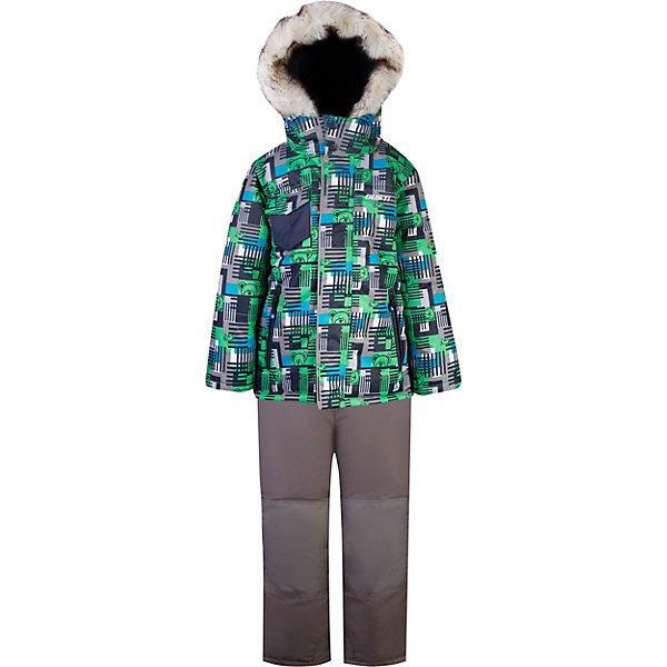 Комплект GUSTI для мальчикаВерхняя одежда<br>Характеристики товара:<br><br>• цвет: синий;<br>• комплектация: куртка, полукомбинезон;<br>• состав ткани: 100% полиэстер;<br>• подкладка: 100% полиэстер;<br>• утеплитель: 100% полиэстер (полифилл 283 гр/кв.м, 170 гр/кв.м);<br>• мембрана;<br>• сезон: зима;<br>• температурный режим: от -30 до +5;<br>• водоотталкивающая способность: 5000 мм;<br>• воздухопроницаемость: 5000 г/м;<br>• плотность ткани: Т190;<br>• особенности модели: с отстегивающимся капюшоном;<br>• застежка: молния;<br>• снегозащитная юбка;<br>• светоотражающие детали;<br>• возможность удлинения рукавов и штанин;<br>• отстегивающийся верх полукомбинезона в возрасте от 7 до 14 лет;<br>• усилены места наибольшего истирания;<br>• страна бренда: Канада.<br><br>Мембранный детский комплект - со светоотражающими деталями, ветрозащитной планкой, удобным капюшоном с опушкой. Комплект для детей сделан из прочного непромокаемого, но дышащего, материала, стойкого к истиранию, он очень легко чистится благодаря специальному покрытию. Этот комплект для ребенка может прослужить не один сезон - он увеличивается на размер за счет рукавов и штанин. Детская одежда от канадского бренда GUSTI - это стильные модели отличного качества, которые помогают обеспечить ребенку максимально возможный комфорт.