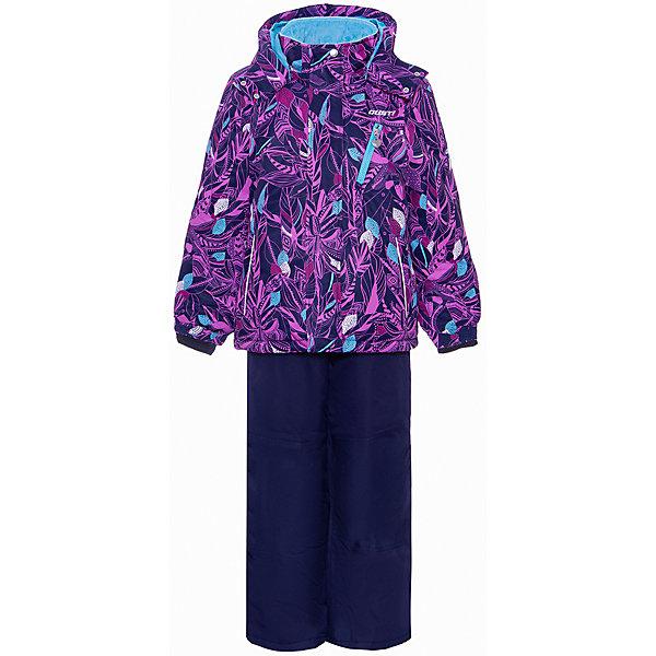 Комплект GUSTI для девочкиВерхняя одежда<br>Характеристики товара:<br><br>• цвет: черный;<br>• состав ткани: 100% полиэстер;<br>• подкладка: 100% полиэстер;<br>• утеплитель: 100% полиэстер (полифилл 280 гр/кв.м);<br>• мембрана;<br>• сезон: зима;<br>• температурный режим: от -30 до +5;<br>• водоотталкивающая способность: 5000 мм;<br>• воздухопроницаемость: 5000 г/м;<br>• плотность ткани: Т190;<br>• особенности модели: с отстегивающимся капюшоном;<br>• застежка: молния с защитной планкой;<br>• снегозащитная юбка;<br>• светоотражающие детали;<br>• страна бренда: Канада.<br><br>Черная детская парка обеспечивает надежную защиту от холода и снега - есть снегозащитная юбка, ветрозащитная планка и капюшон. Парка для ребенка сделана из износостойкой, дышащей и непромокаемой ткани. Парка для детей обеспечит тепло и комфорт даже в сильные холода. Детские товары от канадского бренда GUSTI - это гарантия высокого качества изделий.