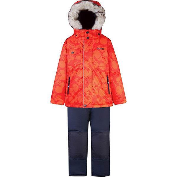 Купить Комплект GUSTI для мальчика, Китай, оранжевый, 100, 92, 104, 110, 116, 122, 98, Мужской