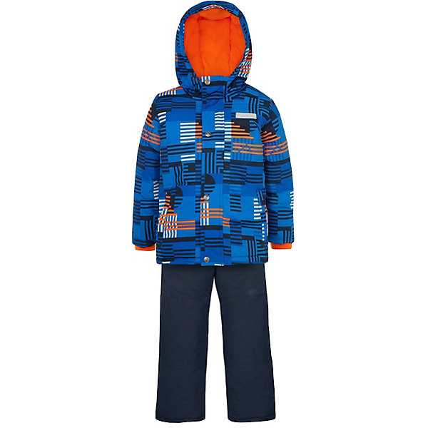 Комплект Salve: утепленная куртка и полукомбинезонВерхняя одежда<br>Характеристики товара:<br><br><br>• комплектация: куртка, полукомбинезон;<br>• состав ткани верха: 100% полиэстер;<br>• подкладка: 100% полиэстер;<br>• утеплитель: 100% полиэстер (полифилл 300 гр/кв.м, 170 гр/кв.м);<br>• мембрана;<br>• сезон: зима;<br>• температурный режим: от -35 до +5;<br>• водоотталкивающая способность: 2000 мм;<br>• воздухопроницаемость: 2000 г/м;<br>• особенности модели: с капюшоном;<br>• застежка: молния;<br>• снегозащитная юбка;<br>• светоотражающие детали;<br>• возможность удлинения рукавов и штанин;<br>• усилены места наибольшего истирания;<br>• страна бренда: Канада.<br><br>Детские товары от канадского бренда SALVE - это гарантия высокого качества изделий. Этот детский комплект обеспечивает надежную защиту от холода и снега - есть снегозащитная юбка, ветрозащитная планка, штанины дополнены непромокаемыми гетрами на резинке. Комплект для ребенка сделан из износостойкой, дышащей и непромокаемой ткани. Рукава зимней куртки для детей и штанины полукомбинезона для можно увеличить на 4 см, когда ребенок подрастет.