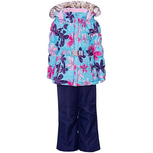 Комплект GUSTI для девочкиВерхняя одежда<br>Характеристики товара:<br><br>• цвет: серый;<br>• комплектация: куртка, полукомбинезон;<br>• отстегивающийся верх полукомбинезона в возрасте от 7 до 14 лет;<br>• состав ткани: 100% полиэстер;<br>• подкладка: 100% полиэстер, флис;<br>• утеплитель: 100% полиэстер (полифилл 283 гр/кв.м, 170 гр/кв.м);<br>• мембрана;<br>• сезон: зима;<br>• температурный режим: от -30 до +5;<br>• водоотталкивающая способность: 5000 мм;<br>• воздухопроницаемость: 5000 г/м;<br>• плотность ткани: Т190;<br>• особенности модели: с отстегивающимся капюшоном;<br>• застежка: молния;<br>• снегозащитная юбка;<br>• светоотражающие детали;<br>• возможность удлинения рукавов и штанин;<br>• усилены места наибольшего истирания;<br>• страна бренда: Канада.<br><br>Для холодной погоды ребенку важно приобрести качественную верхнюю одежду. Мембранный детский комплект состоит из полукомбинезона и куртки, на них есть светоотражающие детали. Полукомбинезон для ребенка легко одевается и надежно сидит благодаря подтяжкам и молнии. Детская куртка - с удобным капюшоном, ветрозащитной планкой и застегивающими карманами. Материал комплекта для детей помогает создать оптимальный для ребенка микроклимат в холодную погоду, он отличается хорошей износостойкостью, легко чистится. Одежду для детей от популярного канадского бренда GUSTI выбирают многие родители, она помогает создать для ребенка действительно комфортные условия, долго служит и стильно выглядит.