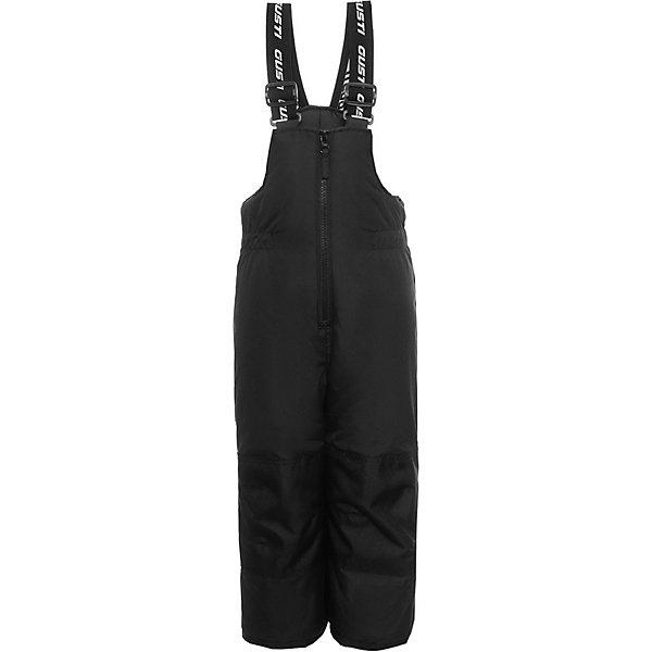 Полукомбинезон GUSTI для мальчикаВерхняя одежда<br>Характеристики товара:<br><br>• цвет: хаки;<br>• комплектация: куртка, полукомбинезон;<br>• отстегивающийся верх полукомбинезона в возрасте от 7 до 14 лет;<br>• состав ткани: 100% полиэстер;<br>• подкладка: 100% полиэстер, флис;<br>• утеплитель: 100% полиэстер (полифилл 283 гр/кв.м, 170 гр/кв.м);<br>• мембрана;<br>• сезон: зима;<br>• температурный режим: от -30 до +5;<br>• водоотталкивающая способность: 5000 мм;<br>• воздухопроницаемость: 5000 г/м;<br>• плотность ткани: Т190;<br>• особенности модели: с отстегивающимся капюшоном;<br>• застежка: молния;<br>• снегозащитная юбка;<br>• светоотражающие детали;<br>• возможность удлинения рукавов и штанин;<br>• усилены места наибольшего истирания;<br>• страна бренда: Канада.<br><br>Зимние вещи могут быть стильными, удобными и теплыми! Мембранный детский комплект обеспечивает надежную защиту от холода и снега - есть снегозащитная юбка, ветрозащитная планка, штанины дополнены непромокаемыми гетрами на резинке. Комплект для ребенка сделан из износостойкой, дышащей и непромокаемой ткани. Рукава зимней куртки для детей и штанины полукомбинезона для можно увеличить на 4 см, когда ребенок подрастет. Детские товары от канадского бренда GUSTI - это гарантия высокого качества изделий.