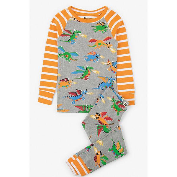 Hatley Пижама Hatley для мальчика hatley футболка с длинным рукавом для мальчика hatley