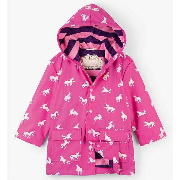 Hatley Плащ Hatley для девочки плащ для девочки hatley цвет розовый s19chk1336 размер 4 104