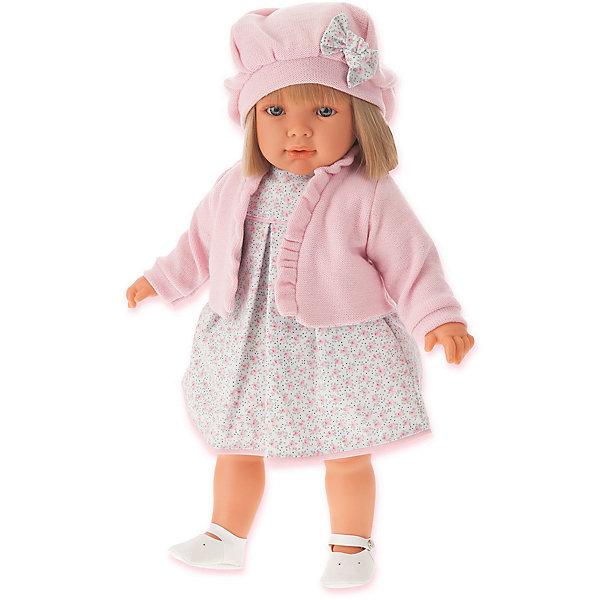 Купить Кукла Juan Antonio Munecas Аделина в розовом, 55 см, Munecas Antonio Juan, Испания, розовый, Женский
