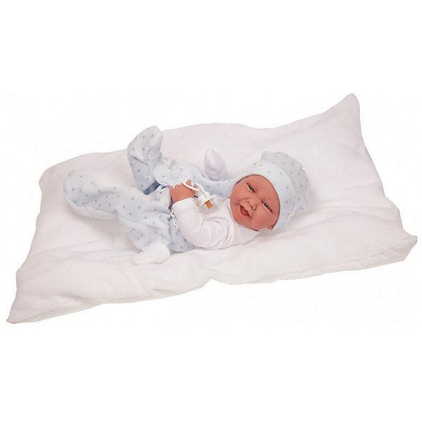 Купить Кукла-младенец Juan Antonio Munecas Мареселло, 42 см, Munecas Antonio Juan, Испания, белый, Женский