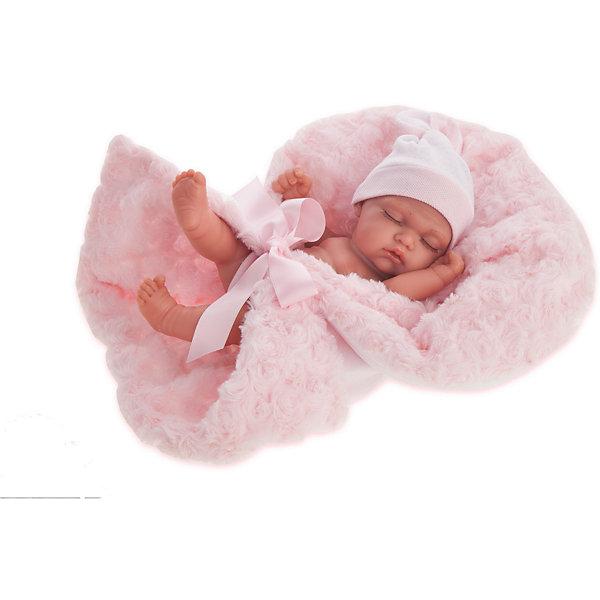 Купить Кукла-младенец Juan Antonio Munecas Франциско в розовом, 26 см, Munecas Antonio Juan, Испания, розовый, Женский