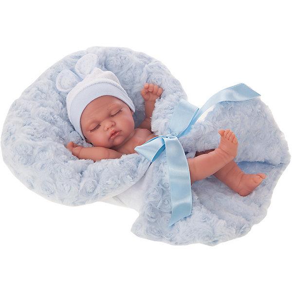 Купить Кукла-младенец Juan Antonio Munecas Франциско в голубом, 26 см, Munecas Antonio Juan, Испания, розовый, Женский