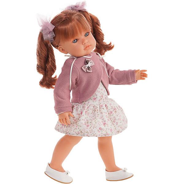 Купить Кукла Juan Antonio Munecas Римма с кудряшками, 45 см, Munecas Antonio Juan, Испания, розовый, Женский
